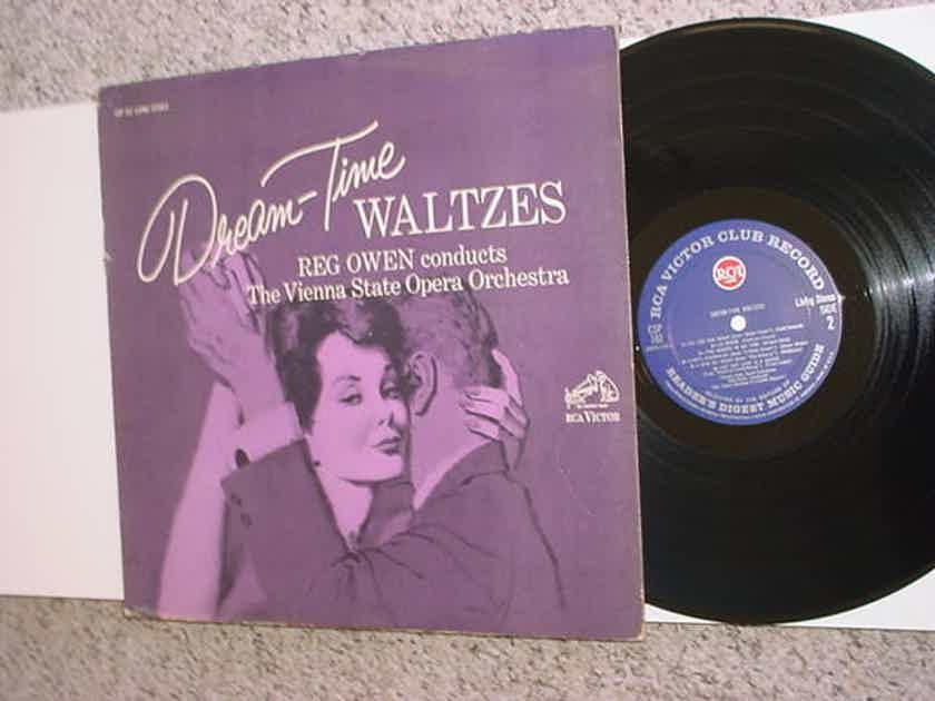 Reg Owen Vienna state opera orchestra dream time waltzes lp record RCA