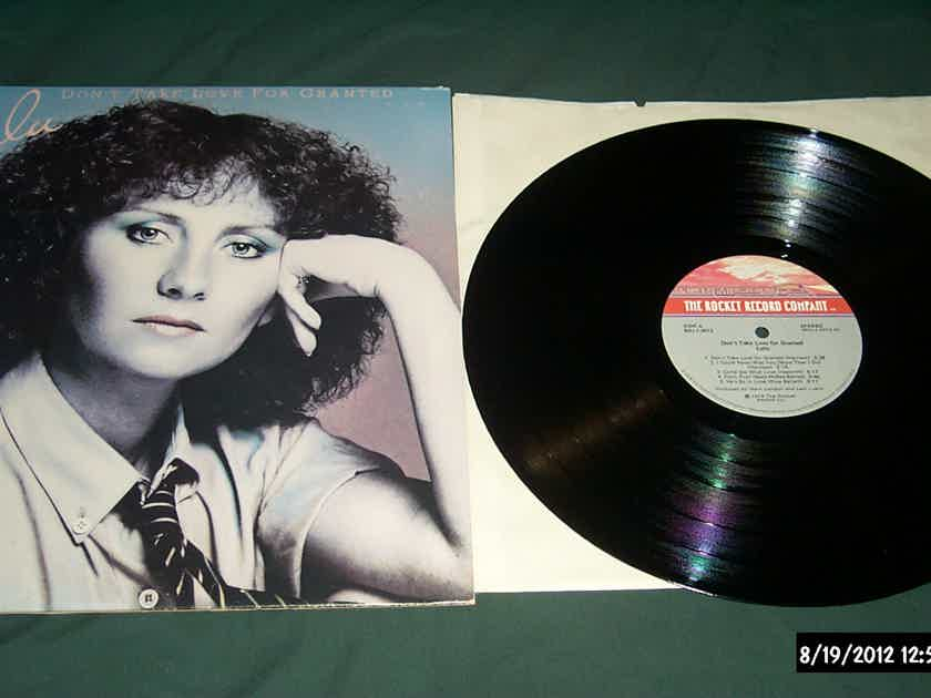 Lulu - Don't Take Love For Granted Rocket Records Label LP  NM