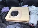 raw bamboo plinth