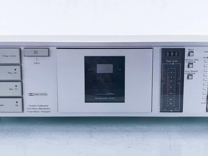 Nakamichi BX-100 Dual Head Cassette Deck Tape Recorder; BX100 (15117)