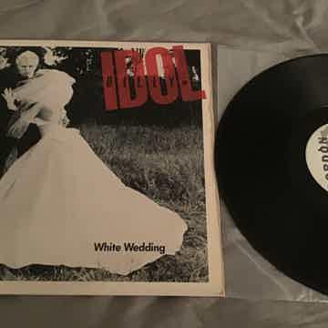 Billy Idol White Wedding Parts 1 & 2 Chrysalis Records ...