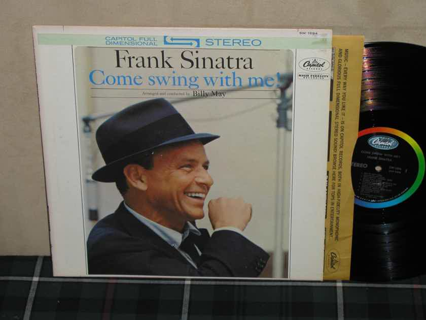 Frank Sinatra - Come Swing With Me Rainbow Capitol STEREO