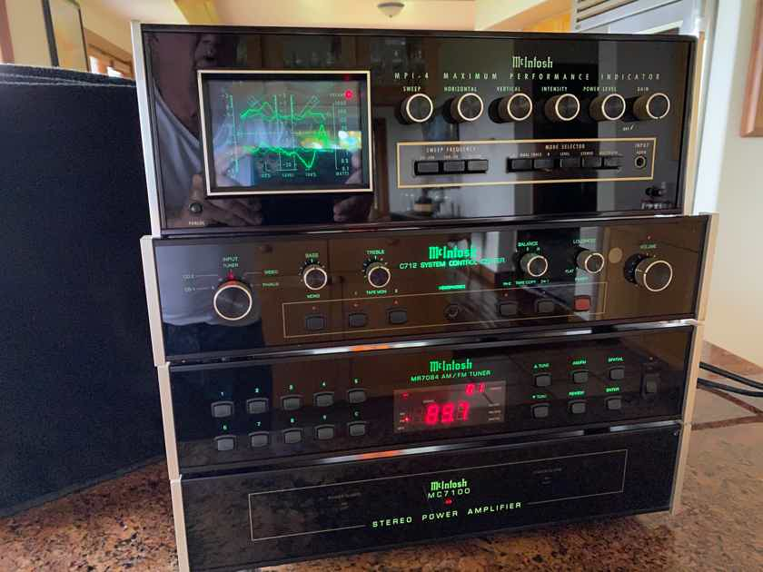 McIntosh RETRO AUDIO SYSTEM C-712, MR-7083, MC7100, MPI-4