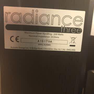 Acoustic Energy Radiance
