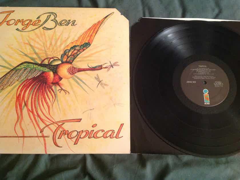 Jorge Ben Tropical Island Records Black Label 1976 LP