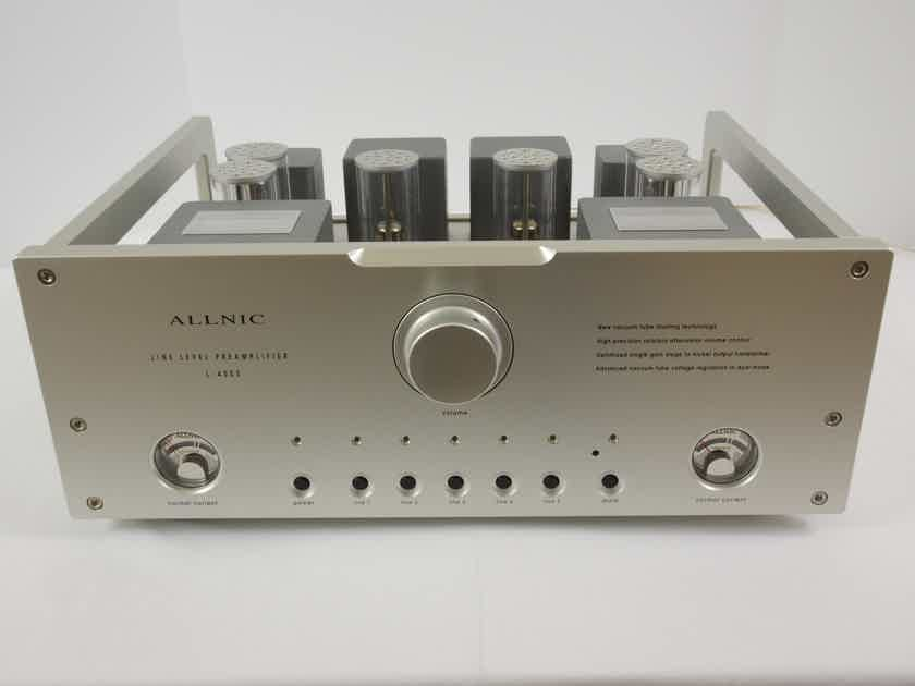 Allnic Audio L4000 MK2 Tube Preamp With Upgrade Transformers Excellent Condition