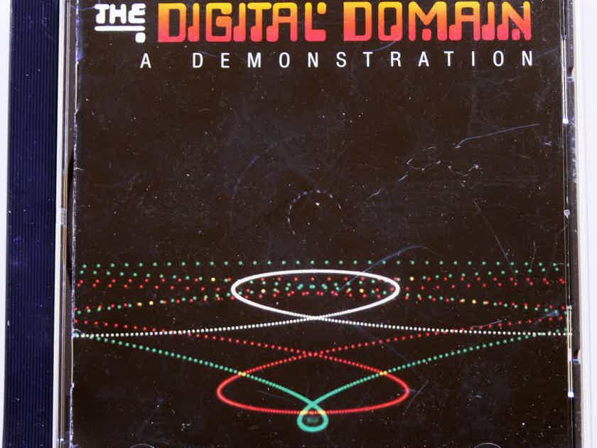 DIGITAL DOMAIN CD  - ** EARLY WEST GERMANY TARGET TEST & DEMO CD ** 1983
