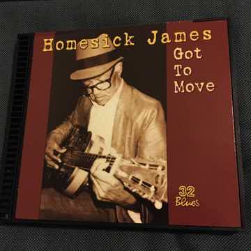 Homesick James  Got to move Cd 32 blues 1999