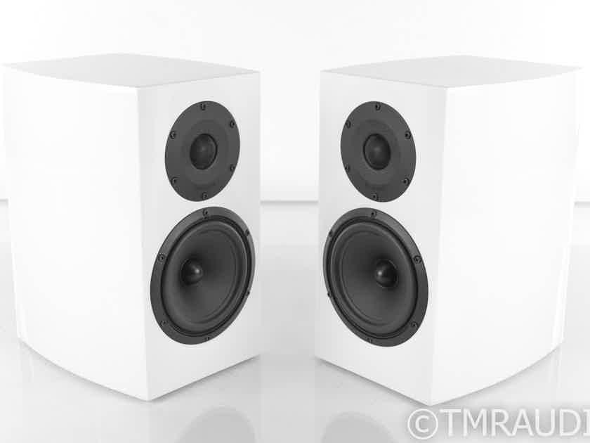 Atohm GT1-DV Devialet Special Edition Bookshelf Speakers; Gloss White Pair (20042)