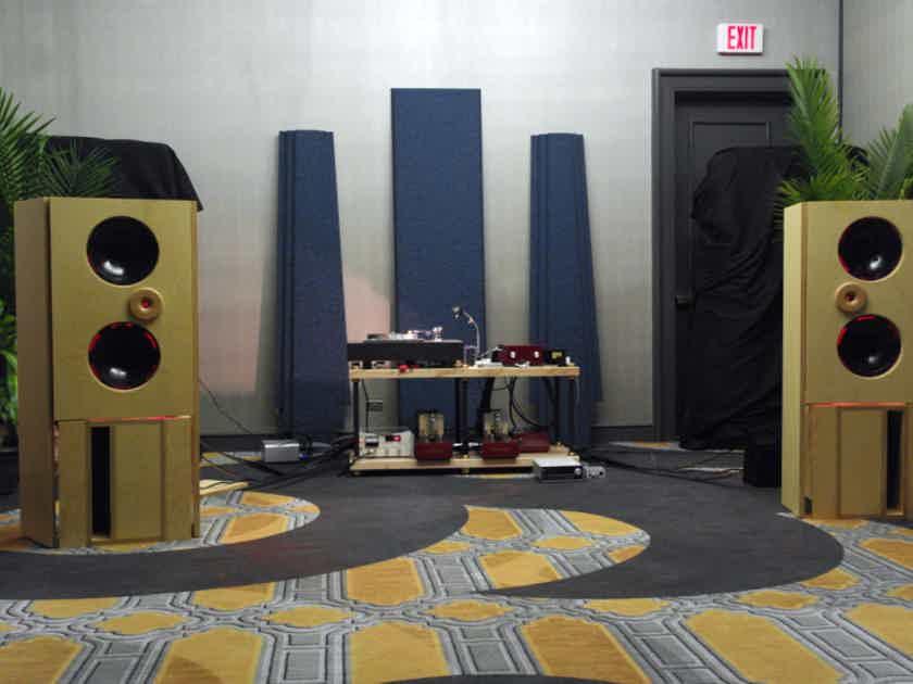 Bastanis Speakers Mandala Open Baffle