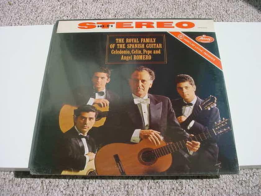 SEALED Mercury Living Presence SR90295 LP Record The Royal Family of the Spanish Guitar Angel Romero