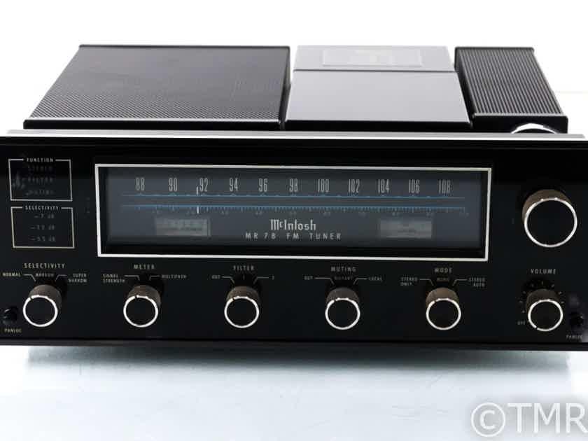McIntosh MR78 Vintage FM Tuner; MR-78 (21129)