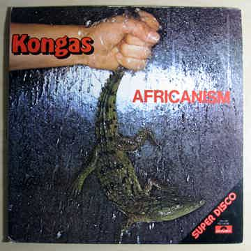 Kongas - Africanism  1977 NM- WHITE LABEL PROMO Vinyl L...