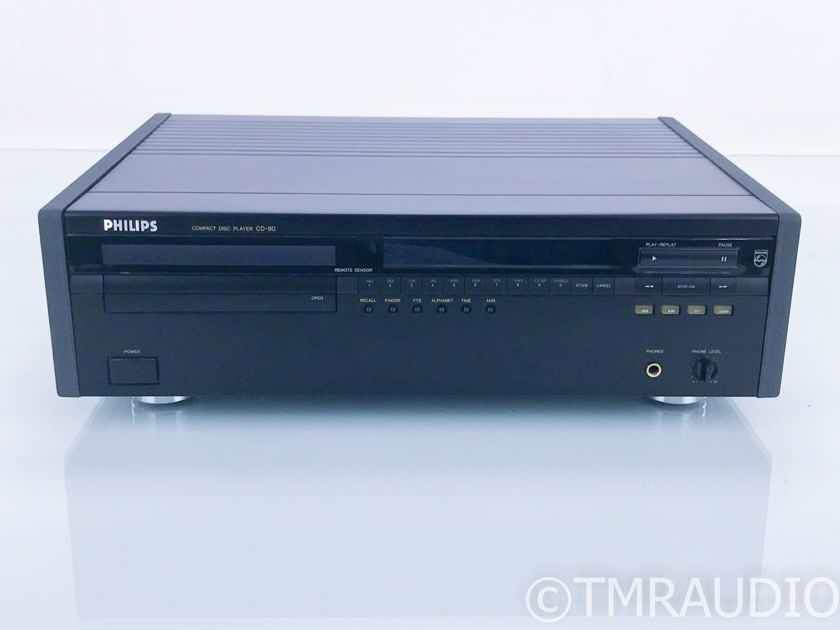 Philips CD-80 CD Player CD80; Remote (Marantz) (16819)