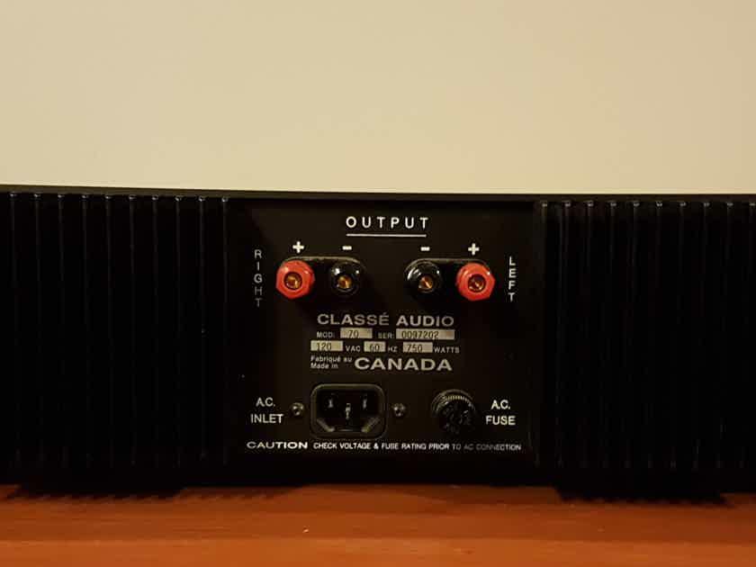 Classe 70 Stereo Power Amplifier.