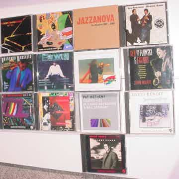JAZZ CD lot of 13 cd's Corea Metheny Benoit  Peplowski Branford Mangione Watson McFERRIN