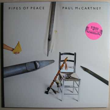 Paul McCartney - Pipes Of Peace - Gold Promo Stamped Co...