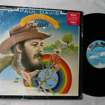 PAUL DAVIS - SOUTHERN TRACKS FANTASIES - RARE ORIG 1976 LP - BANG RECORDS
