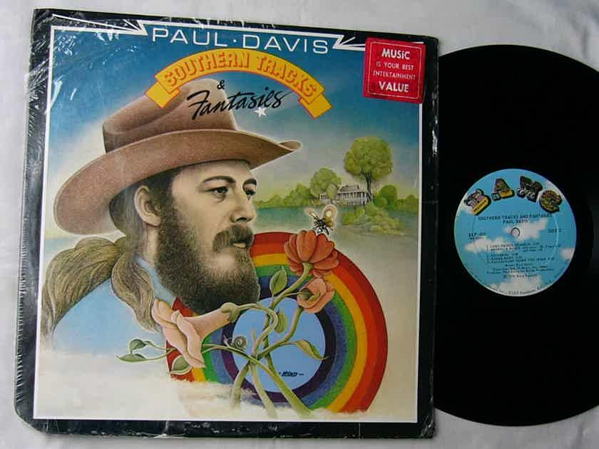 PAUL DAVIS - SOUTHERN TRACKS FANTASIES - - RARE ORIG 1976 LP - BANG RECORDS