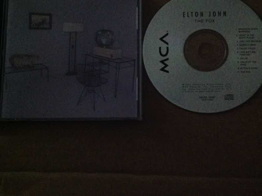 Elton John - The Fox MCA Records Compact Disc