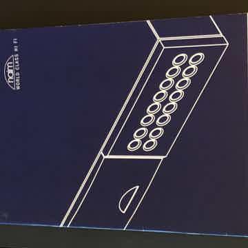 Original Naim Owner's Manual.