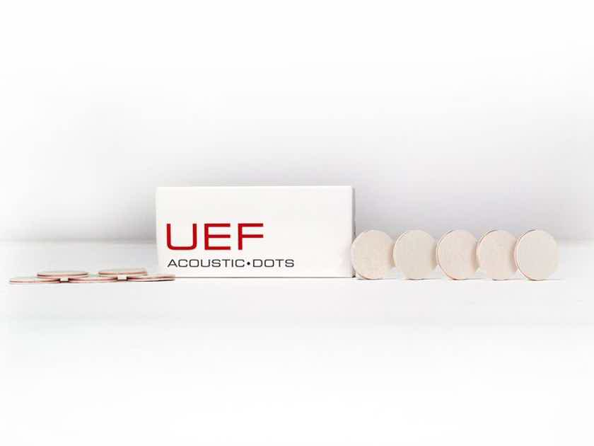 Synergistic Research UEF Acoustic Dots - inconspicuous acoustic treatment for your listening room