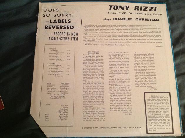 Tony Rizzi & His Five Guitar