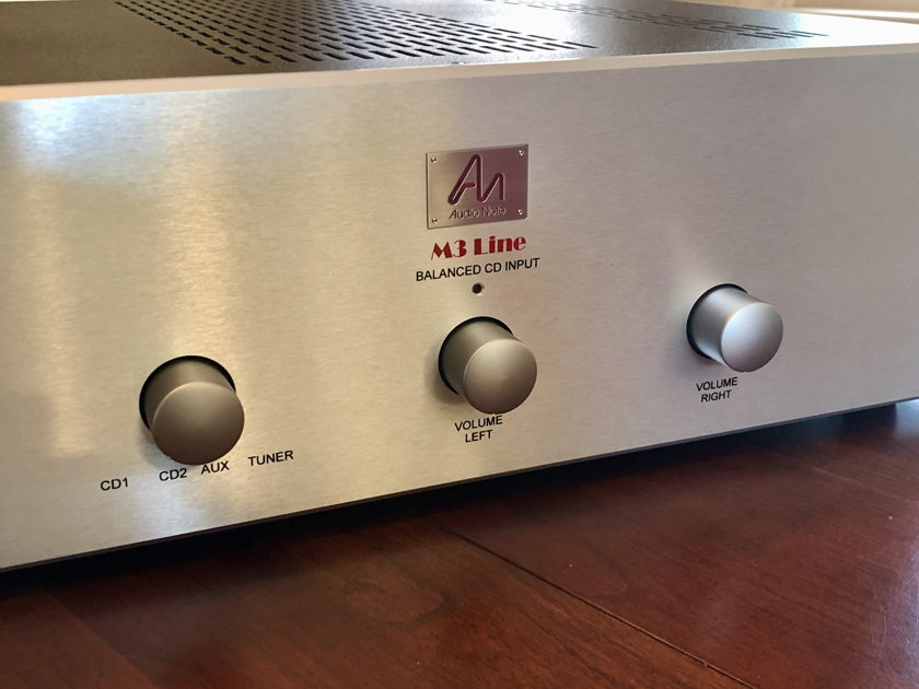 Audio Note UK M3 Line preamplifier with Balanced CD Inputs