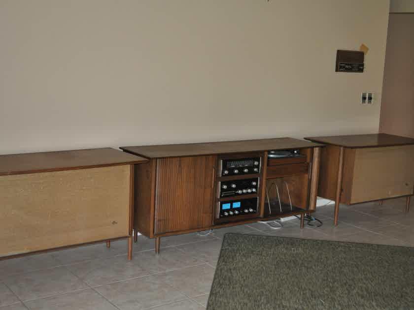 McIntosh and Altec Capistrano Vintage System