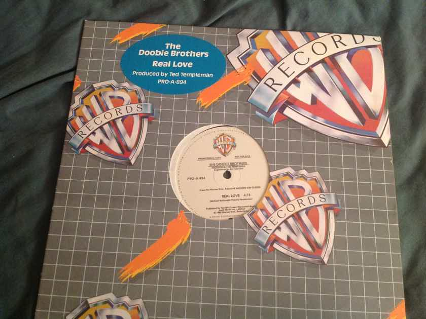 Doobie Brothers  Real Love Promo 1 Sided 12 Inch Single Warner Brothers Records