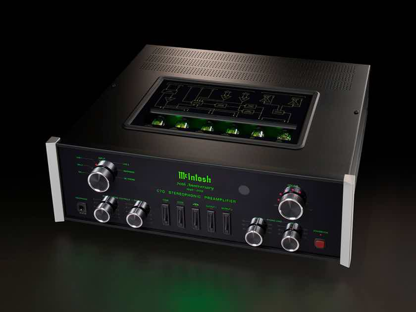 McIntosh C70 70th anniversary edition BRAND NEW in box sealed