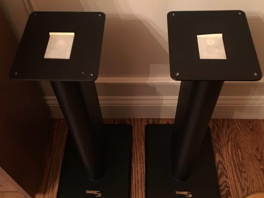 """Target Audio (UK) HM60 deluxe 24"""" speaker stands (pair)"""