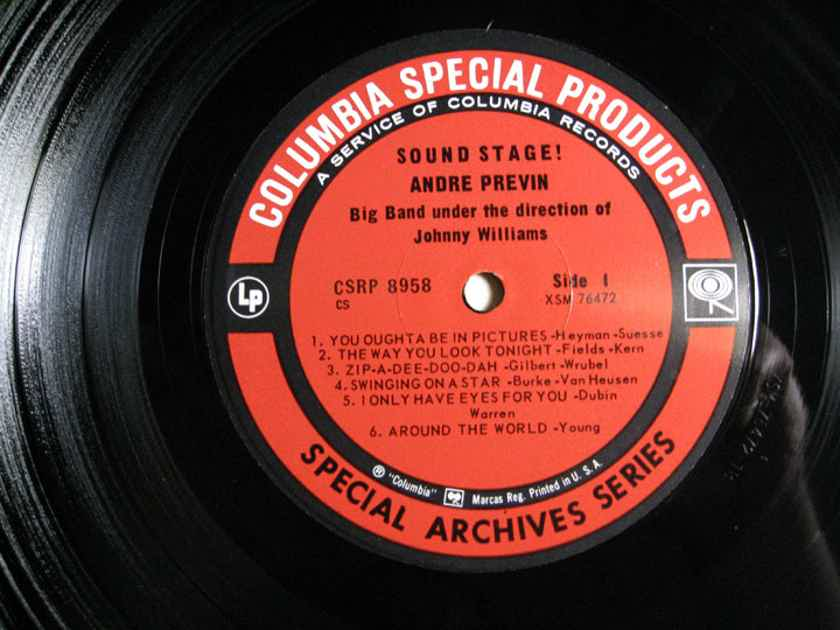 André Previn - André Previn ‎– Sound Stage! - Special Archives Series Columbia Special Products CS 8958