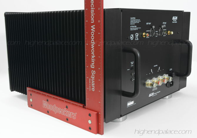 450 watts per channel in 8 Ohms!