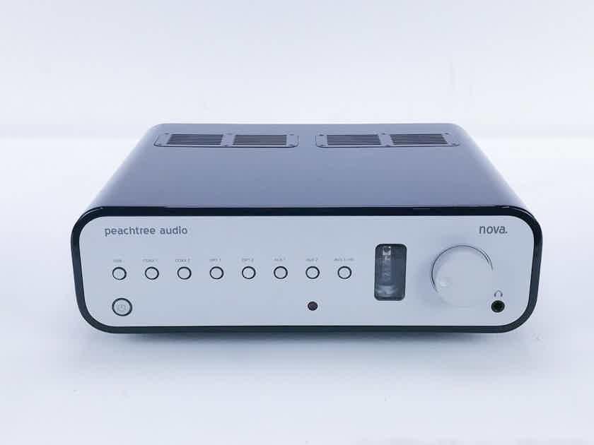 Peachtree Nova Stereo Tube Hybrid Integrated Amplifier; DAC; Remote (16462)