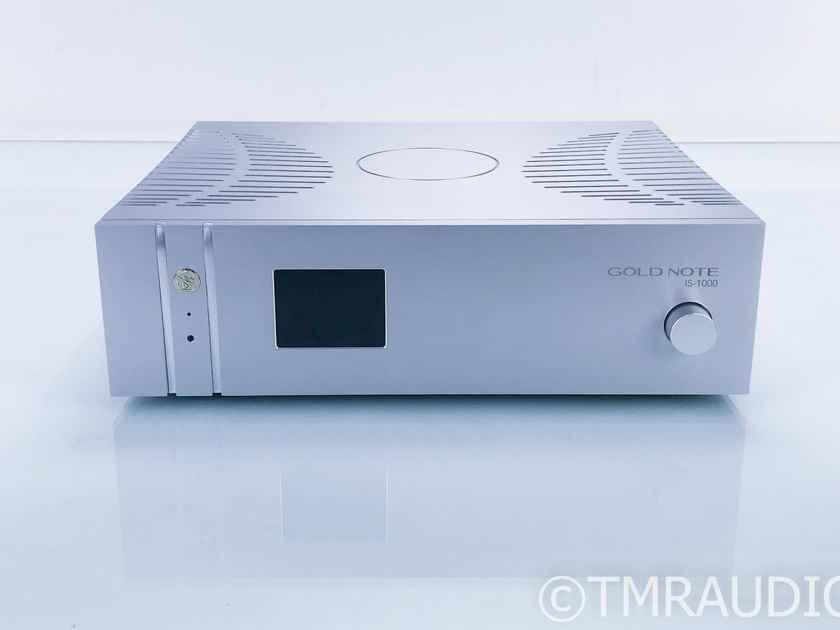 Gold Note IS-1000 Stereo Integrated Amplifier; IS1000; Remote (17321)