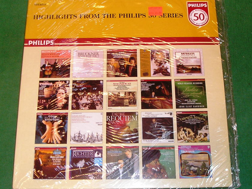 "HIGHLIGHTS FROM THE PHILIPS 50 SERIES - * RARE ""MADE IN ENGLAND"" PRESS * COLLECTOR'S ITEM in FACTORY SHRINK NM 9/10"