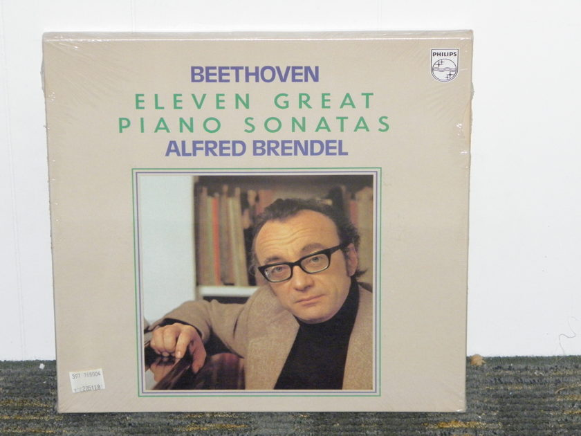 "Alfred Brendel - ""Eleven Great Piano Sonatas"" Philips Import (4LP's) Pressing  6998 028 STILL SEALED/NEW"