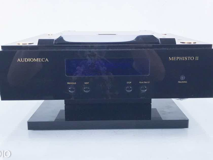 Audiomeca Mephisto II CD Transport  Upgraded Revelation Audio Labs Umbilical (13825)