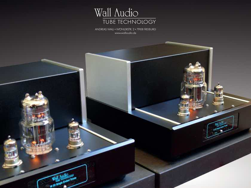 Wall Audio M 33 SET - Single Ended Triode - Pure Class A - showroom demo pair