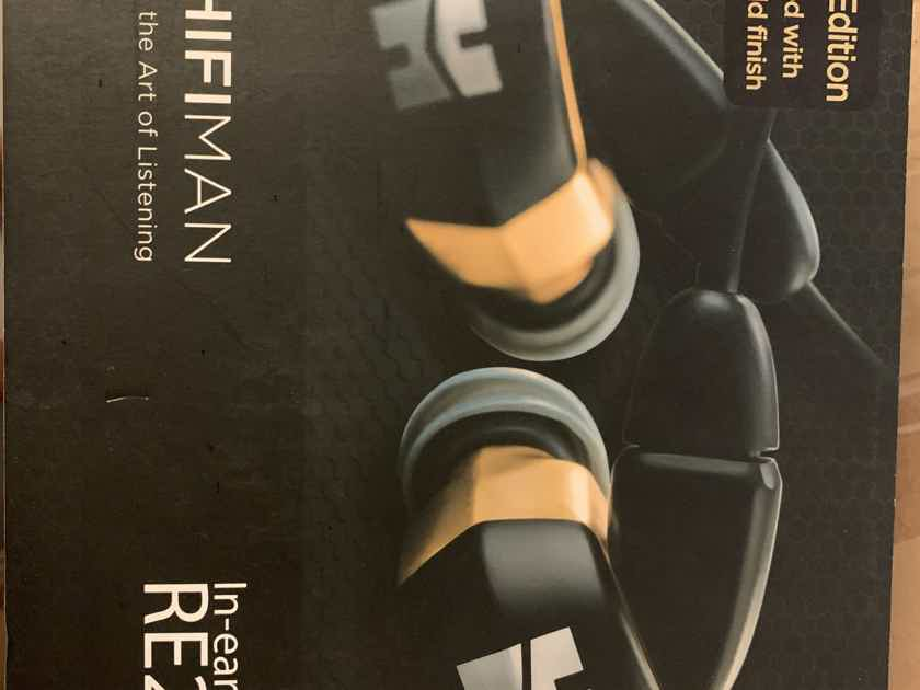 Hifiman RE2000 24K Gold Edition Like New!!