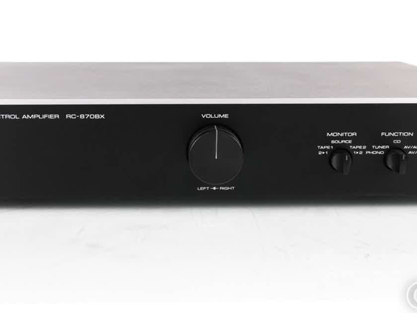 Rotel RC-870BX Stereo Preamplifier; RC807BX (19735)