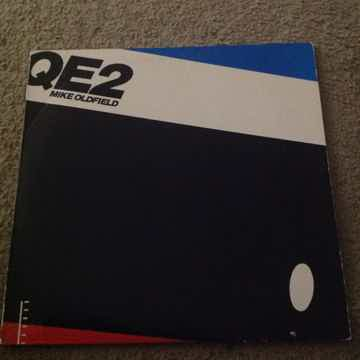 Mike Oldfield - QE2 Virgin Records Promo Stamp Back Cov...