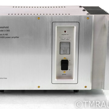 Threshold S/300 STASIS Vintage Stereo Power Amplifier