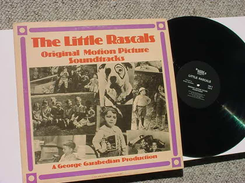 The Little rascals lp record - original motion picture soundtrack George Garabedian Mark 56