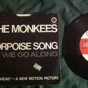 The Monkees - Porpoise Song/As We Go Along 45 Single Wi...