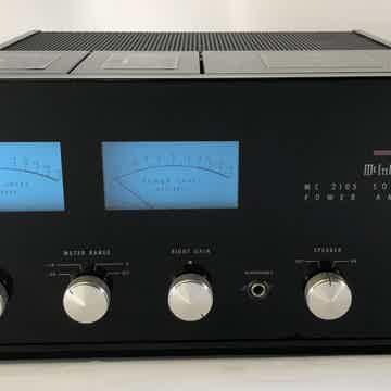 McIntosh MC2105 Solid State Vintage Amplifier - RESTORE...