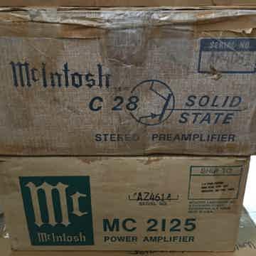 McIntosh C-28 Preamplifier