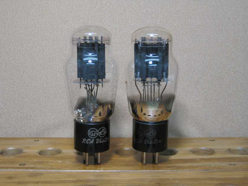 RCA 2A3 VICTOR Matching pair