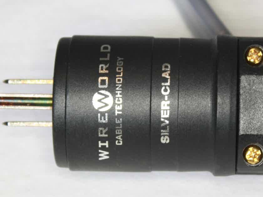 Wireworld Silver Electra 5.2 Power Cord with Upgraded Connectors. 1m
